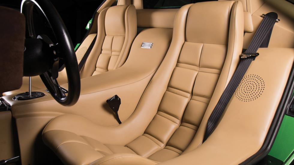 Lamborghini Countach LP400 S Verde asientos