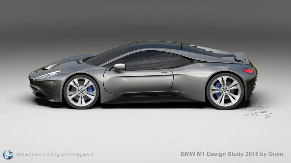 BMW M1 Giom Design lateral