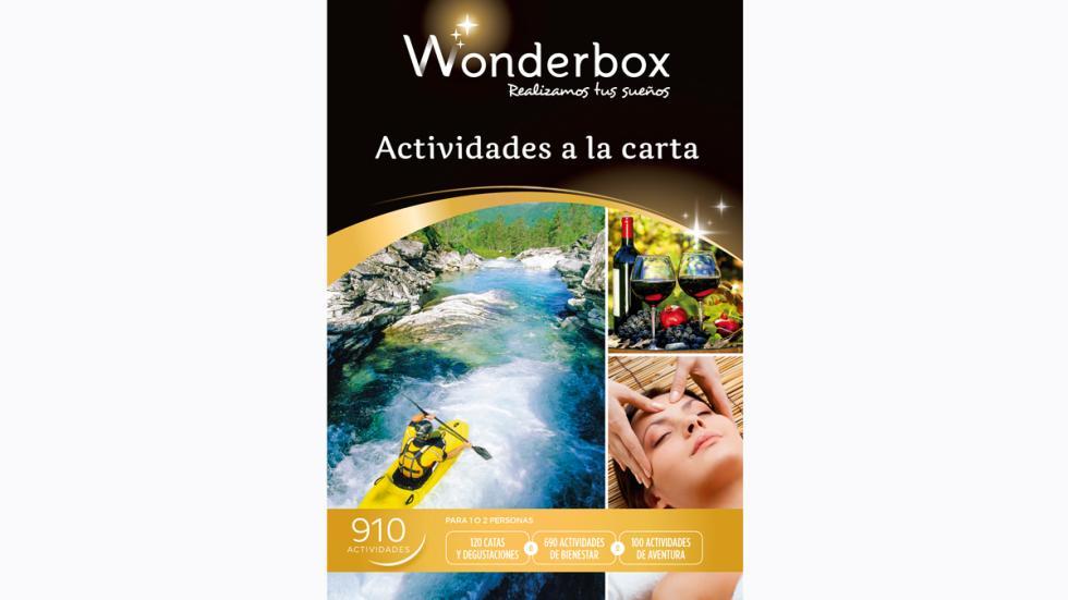 actividades a la carta wonderbox 2015
