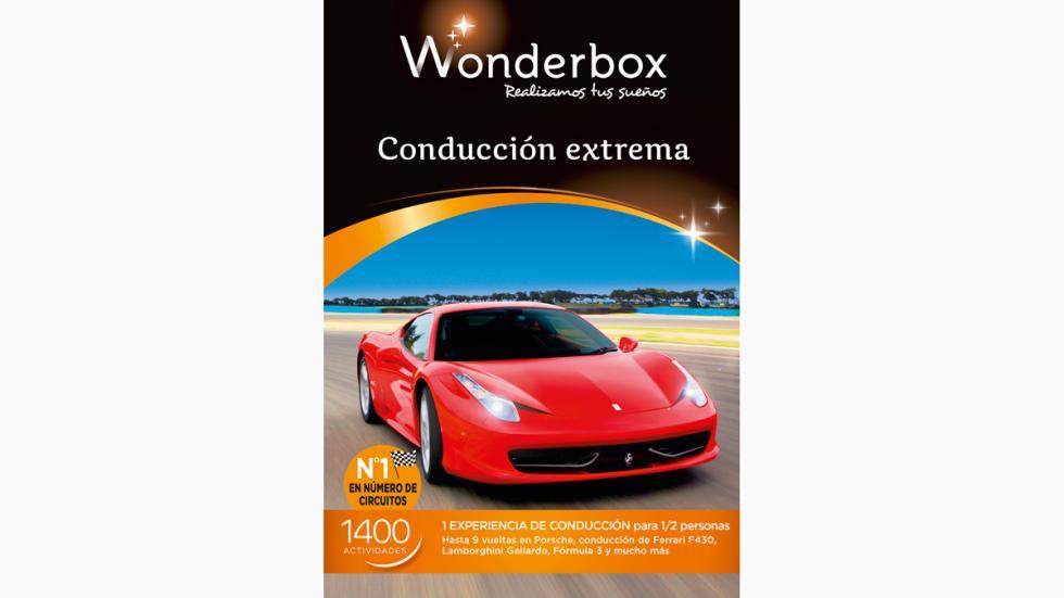 Conducción extrema wonderbox 2015