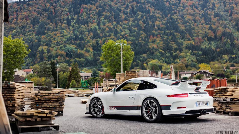 Porsche 911 GT3 lateral