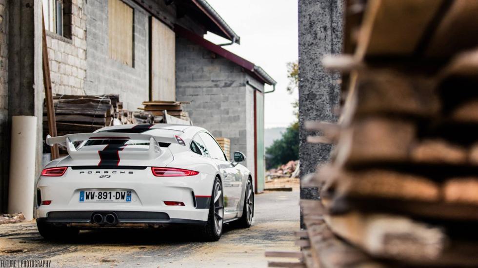 Porsche 911 GT3 trasera