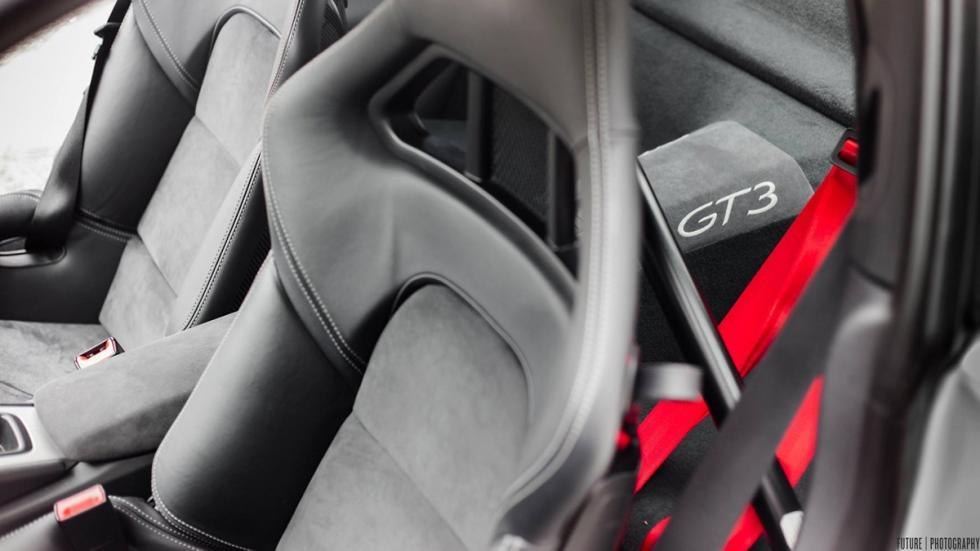 Porsche 911 GT3 asientos
