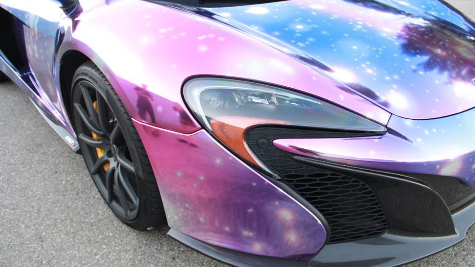 McLaren 650S vinilo galaxia