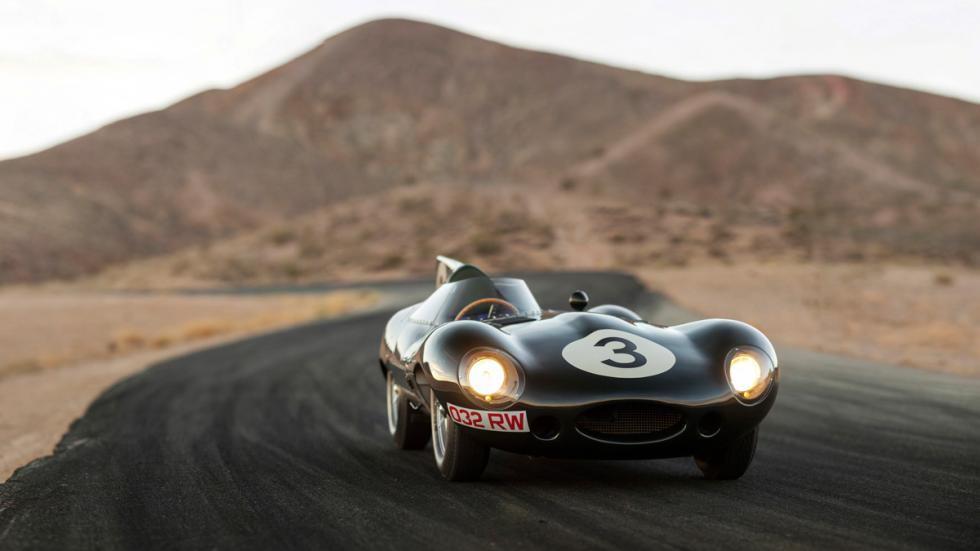 Jaguar D-Type Long Nose frontal