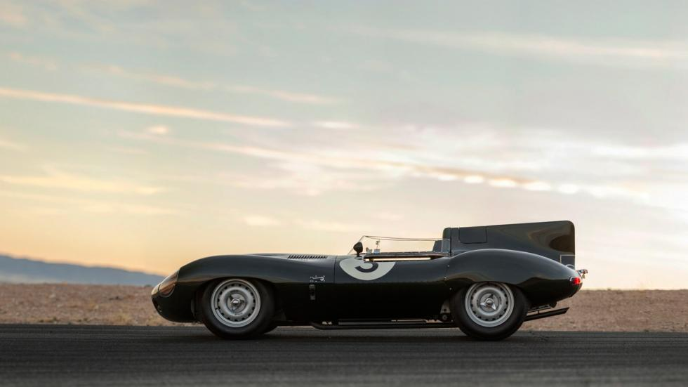 Jaguar D-Type Long Nose lateral