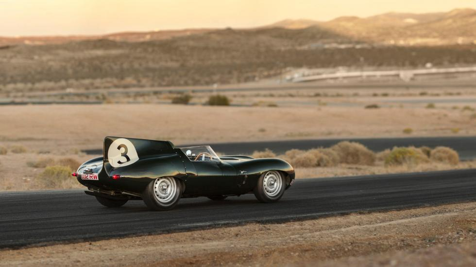 Jaguar D-Type Long Nose lateral trasera