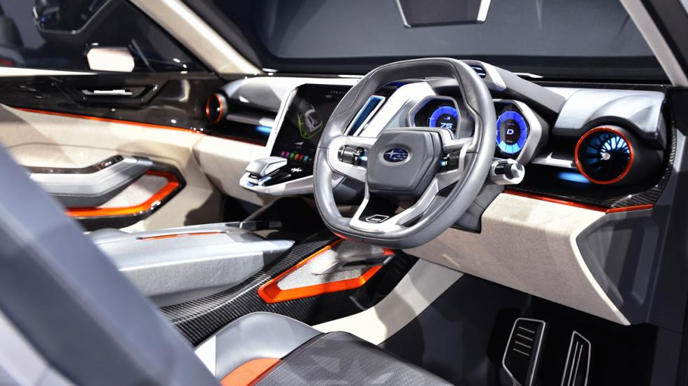 Subaru VIZIV Future Concept Salon Tokyo interior