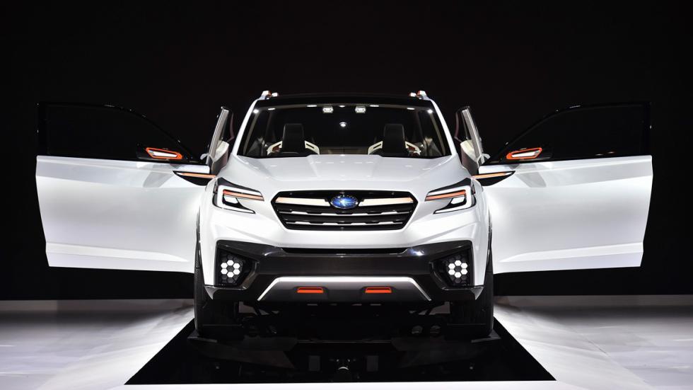 Subaru VIZIV Future Concept Salon Tokyo frontal puertas