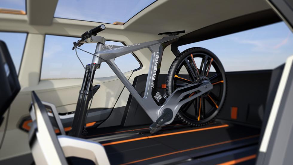 Subaru VIZIV Future Concept Salon Tokyo maletero