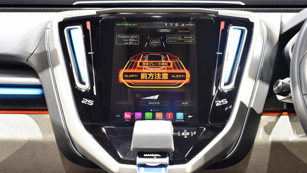 Subaru VIZIV Future Concept Salon Tokyo salpicadero
