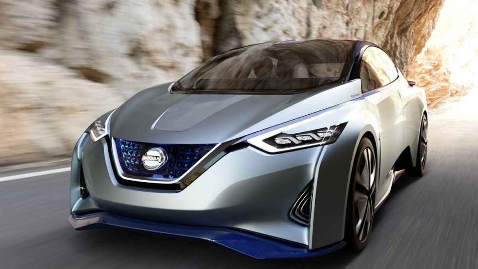 Nissan IDS Concept tres cuartos delanteros