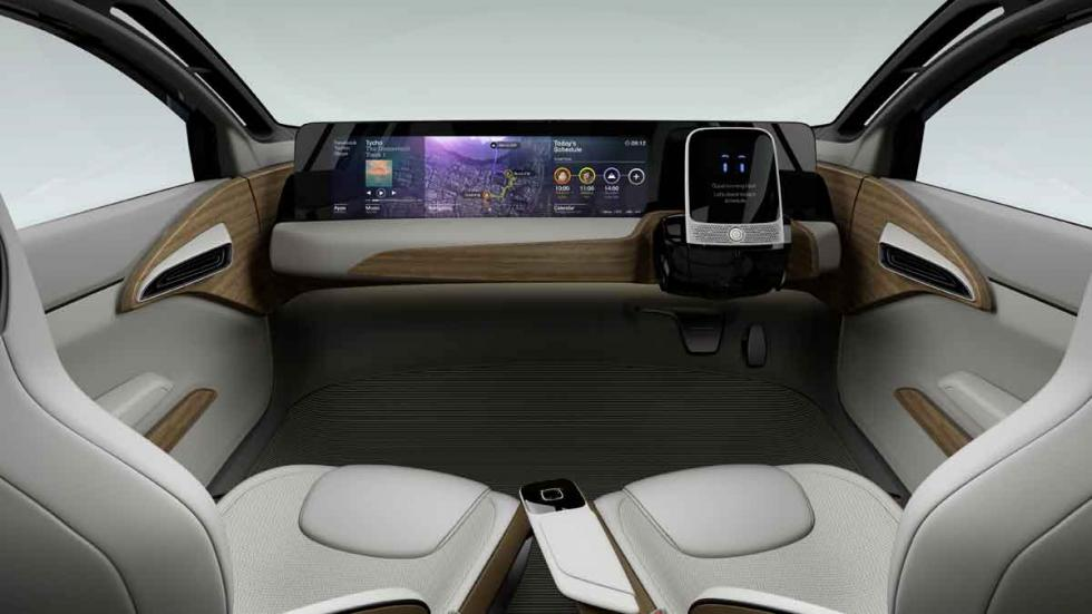 Nissan IDS Concept interior