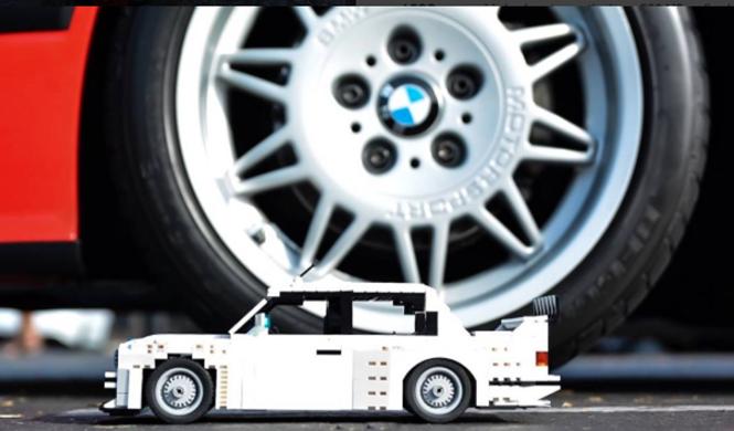 Lego BMW M3 E30 6
