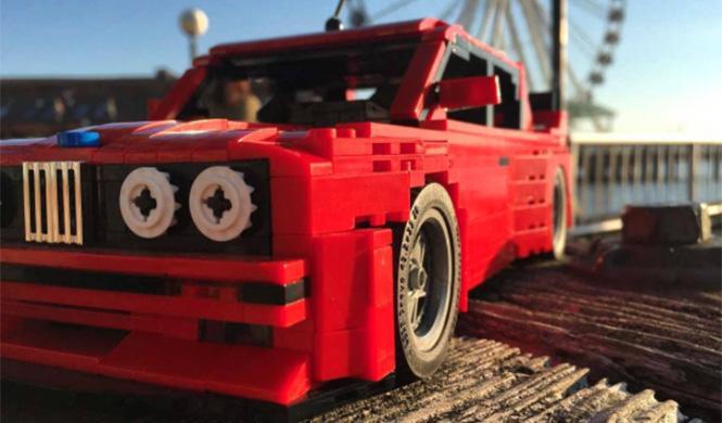 Lego BMW M3 E30 7