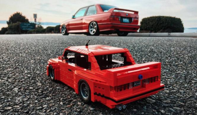 Lego BMW M3 E30 9