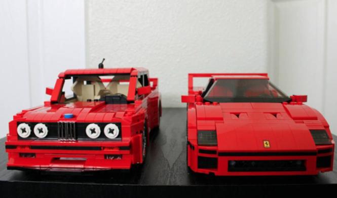 Lego BMW M3 E30 10