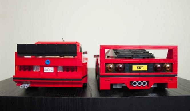 Lego BMW M3 E30 11