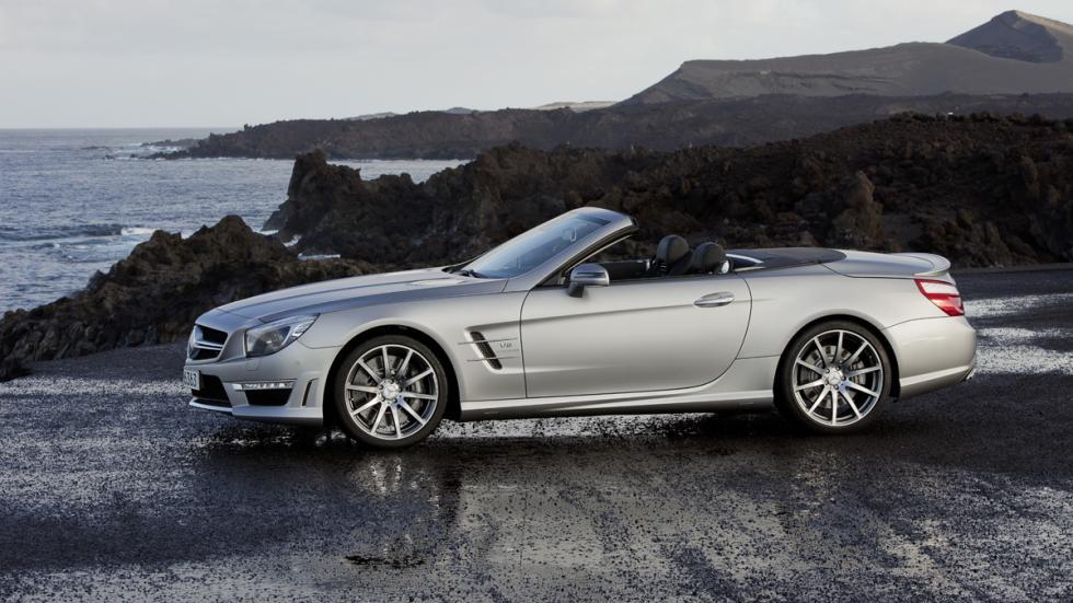 coches-lujo-más-populares-estados-unidos-Mercedes-SL