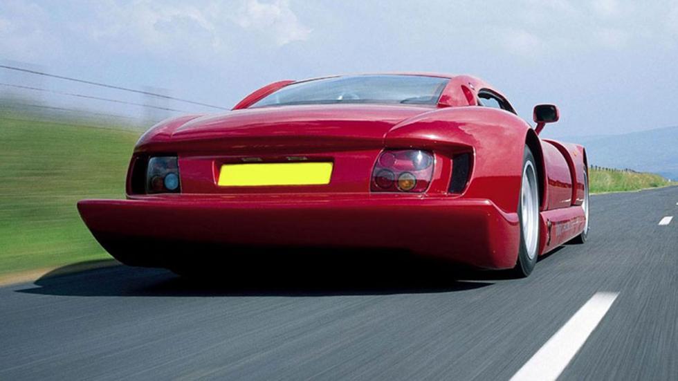coches-miedo-conducir-rápido-TVR-Cerbera-Speed-12-zaga