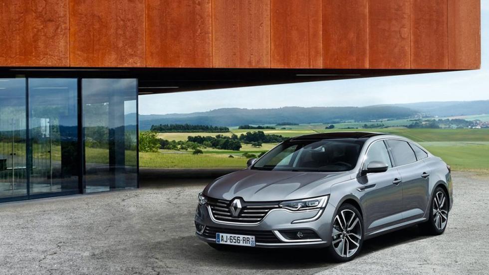 Nuevo Renault Talisman tres cuartos delanteros