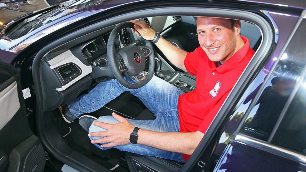 Nuevo Renault Talisman interior redactor puerta