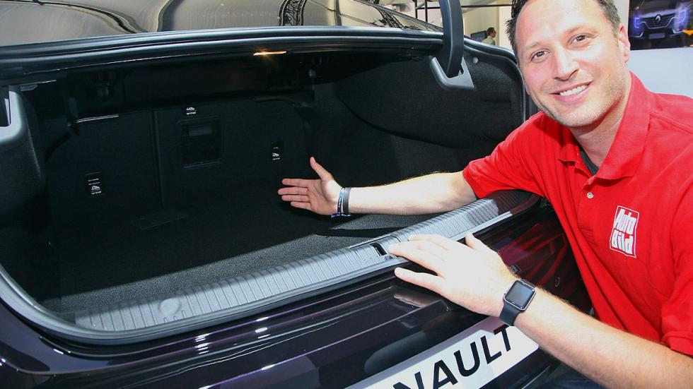 Nuevo Renault Talisman interior redactor maletero