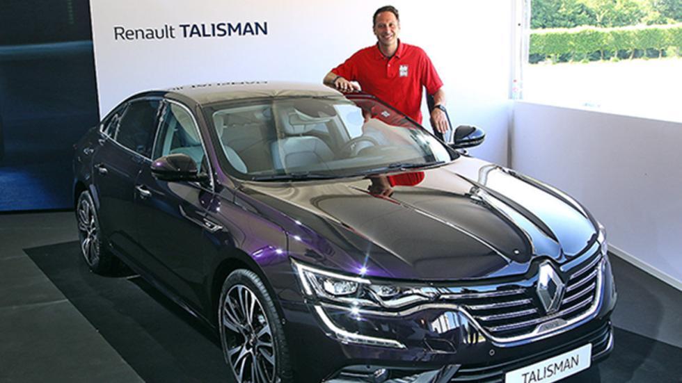 Nuevo Renault Talisman interior redactor frontal