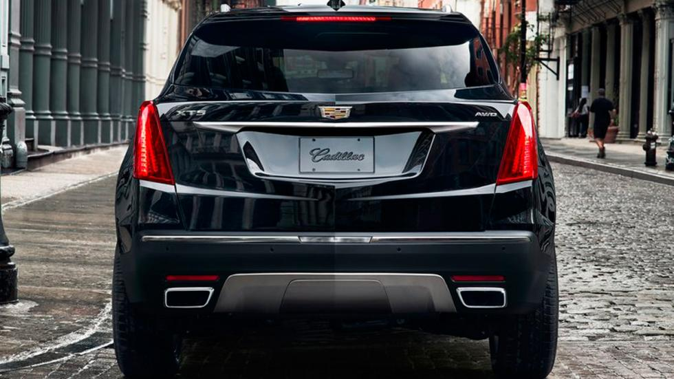 Cadillac XT5 trasera