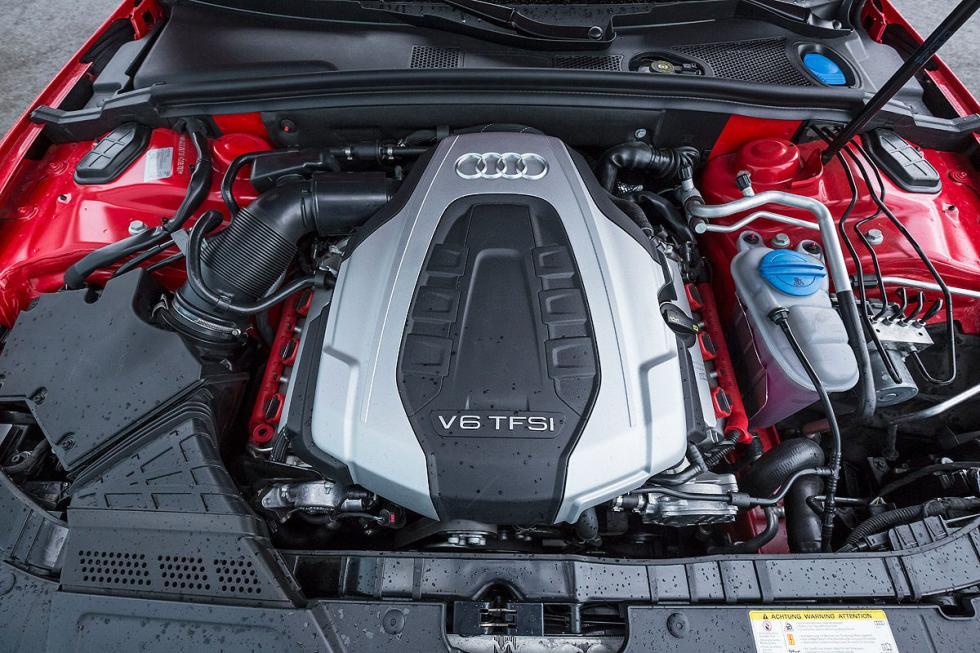 Audi S5 Sportback motor