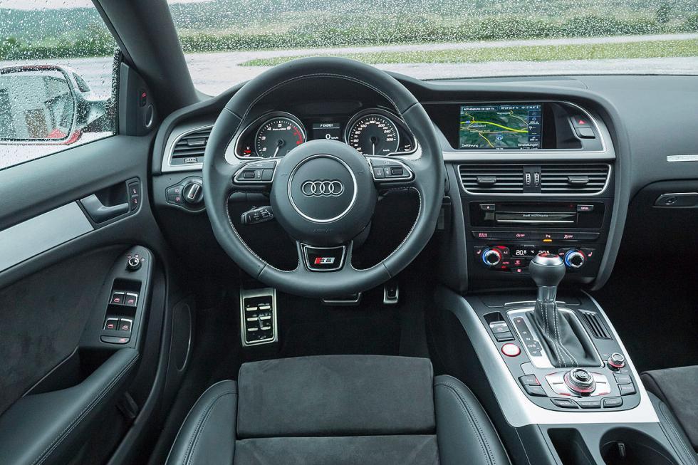 Audi S5 Sportback palanca volante
