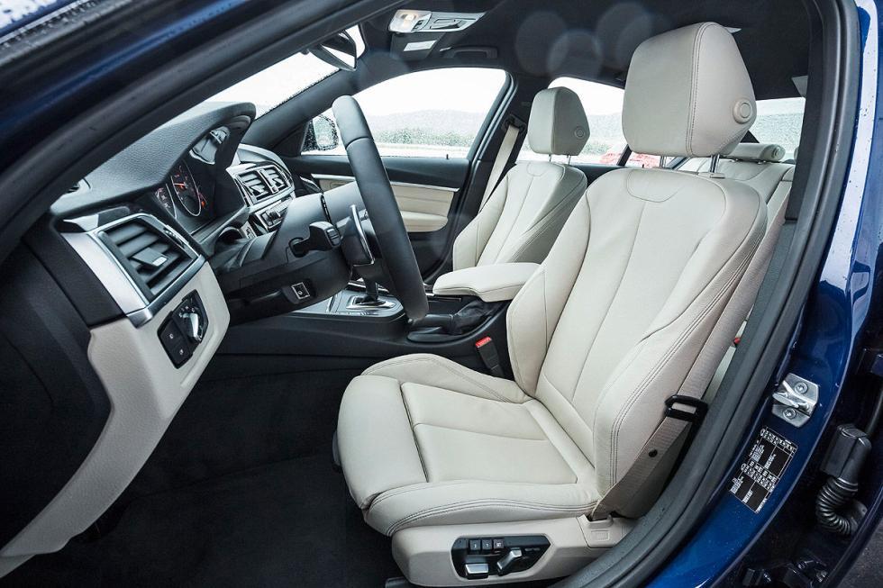 BMW 340i asiento