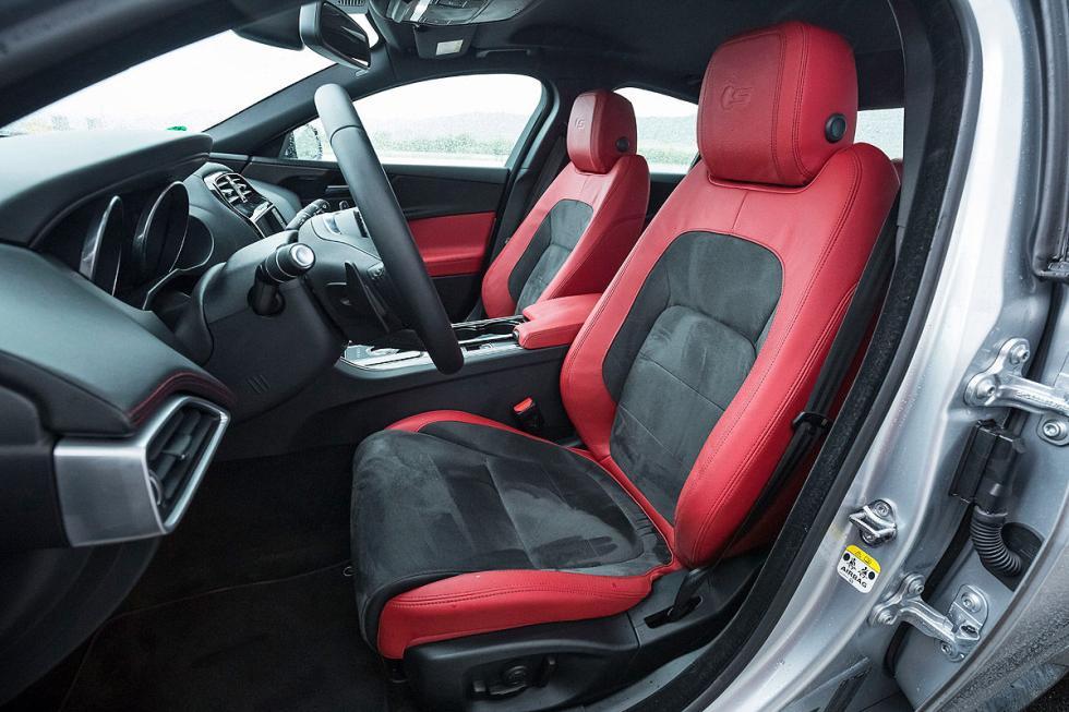 Jaguar XE asiento