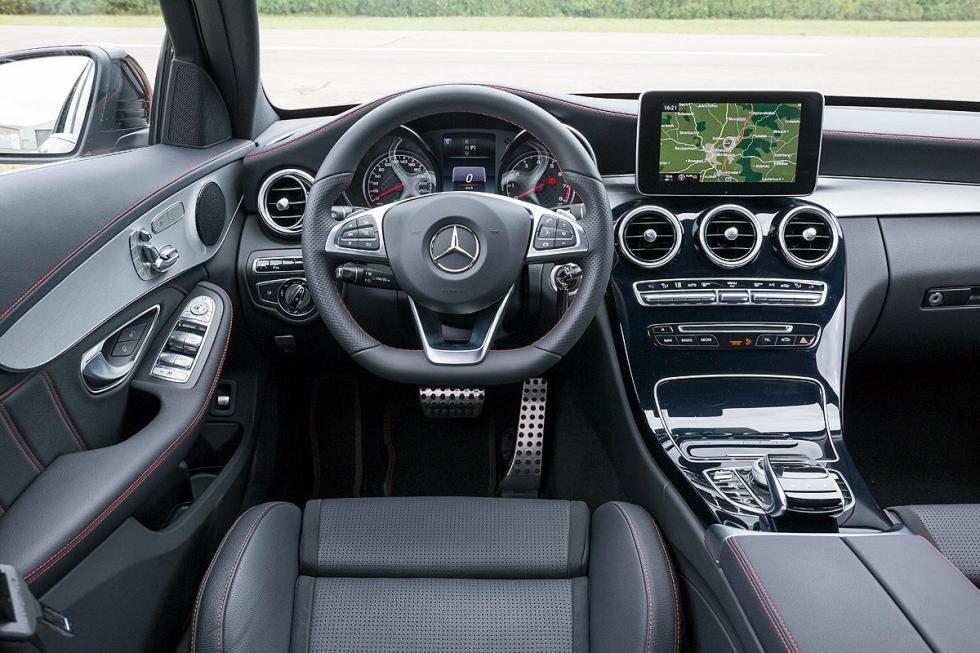 Mercedes C 450 AMG volante