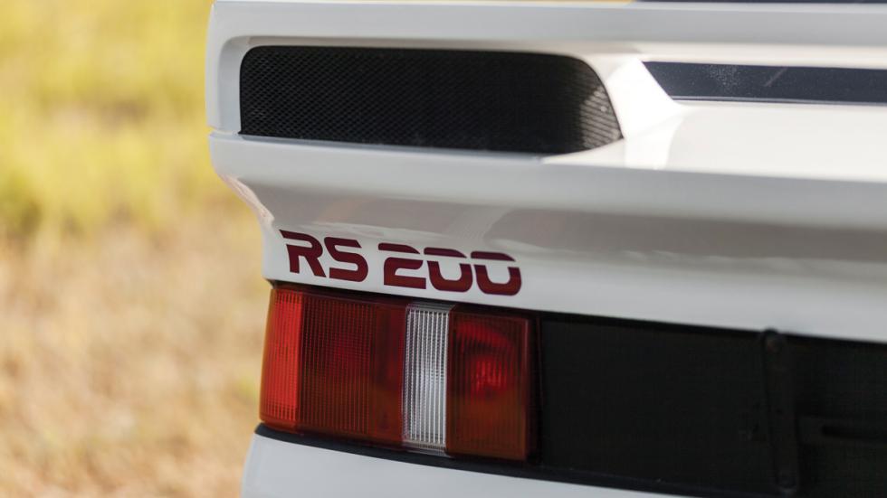 Ford RS200 emblema