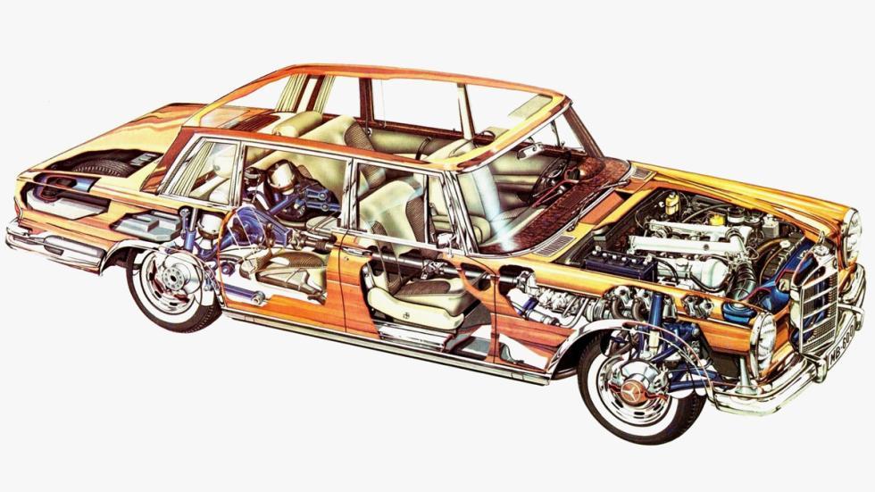 coches-complejidad-técnica-virtud-Mercedes-600-zaga