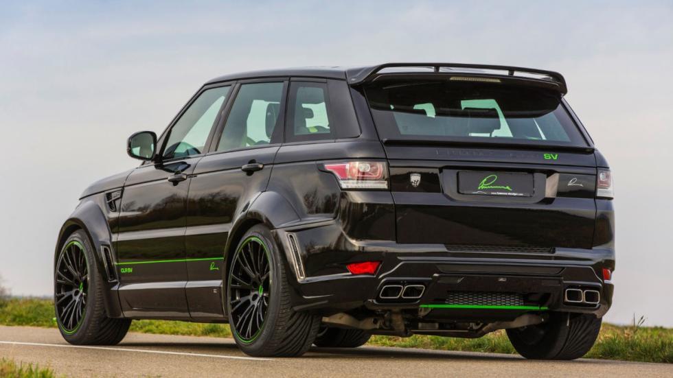 Range Rover Sport SVR by Lumma