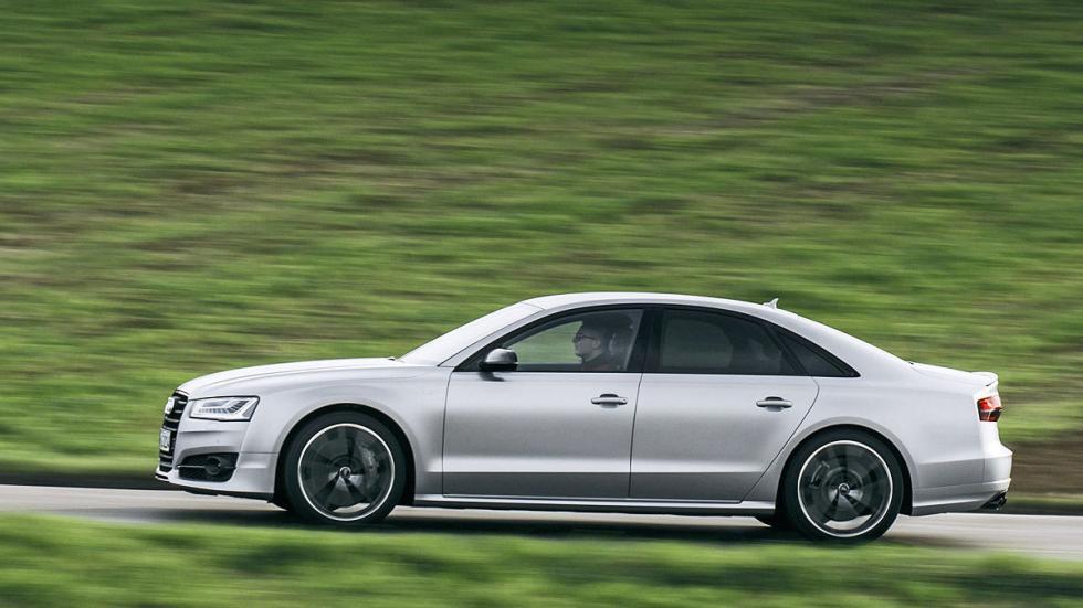 Prueba: Audi S8 Plus barrido