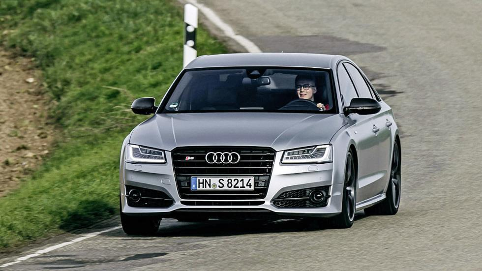 Prueba: Audi S8 Plus morro