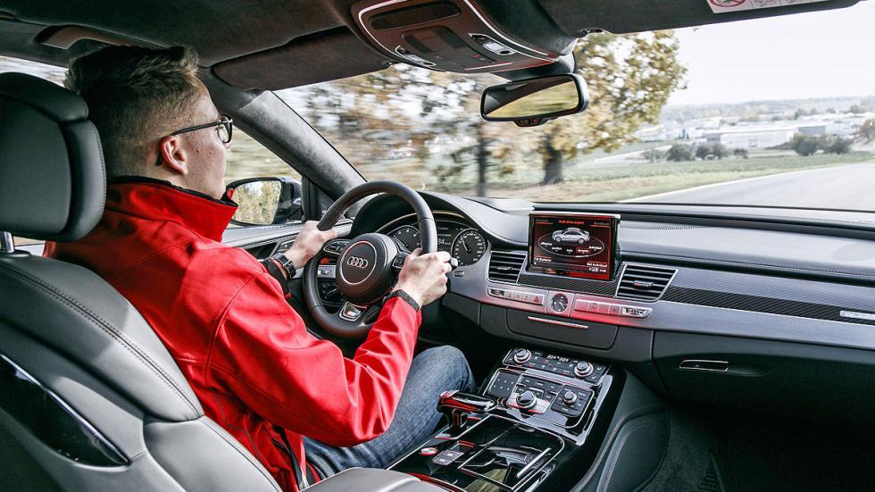 Prueba: Audi S8 Plus interior
