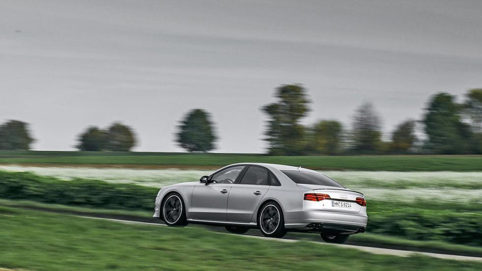 Prueba: Audi S8 Plus zaga