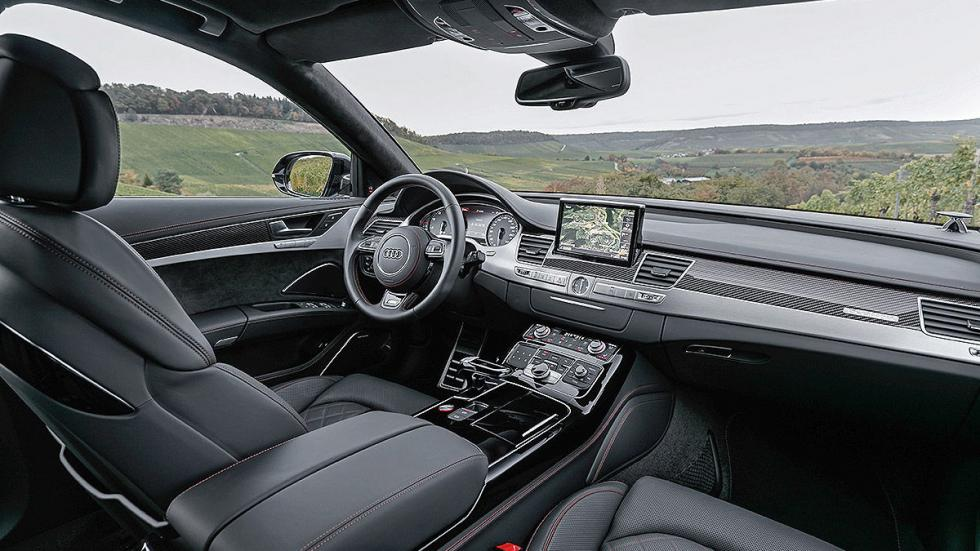 Prueba: Audi S8 Plus salpicadero