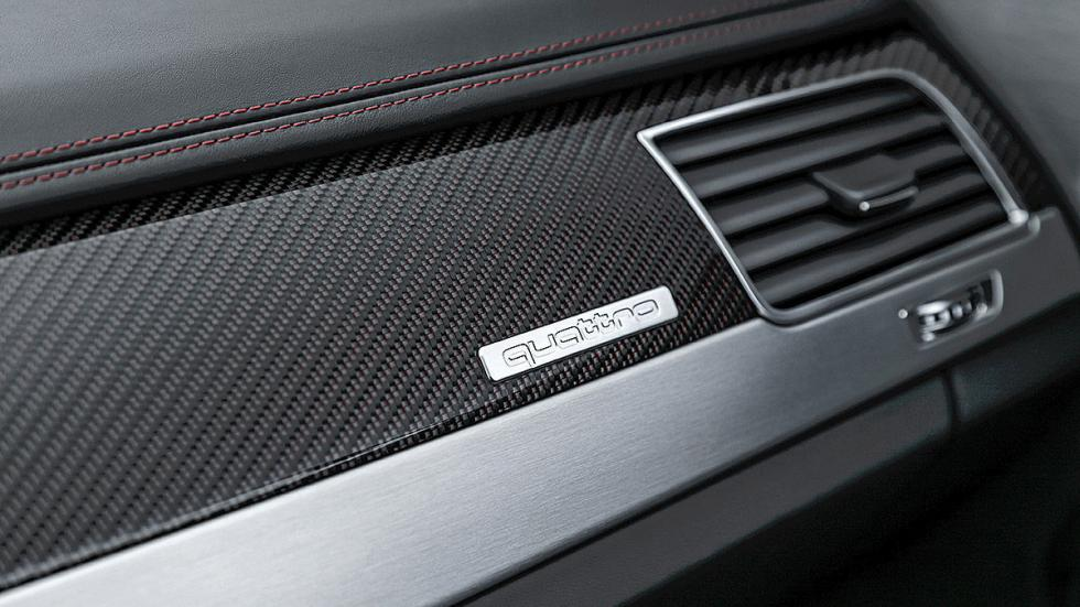 Prueba: Audi S8 Plus salpicadero detalle