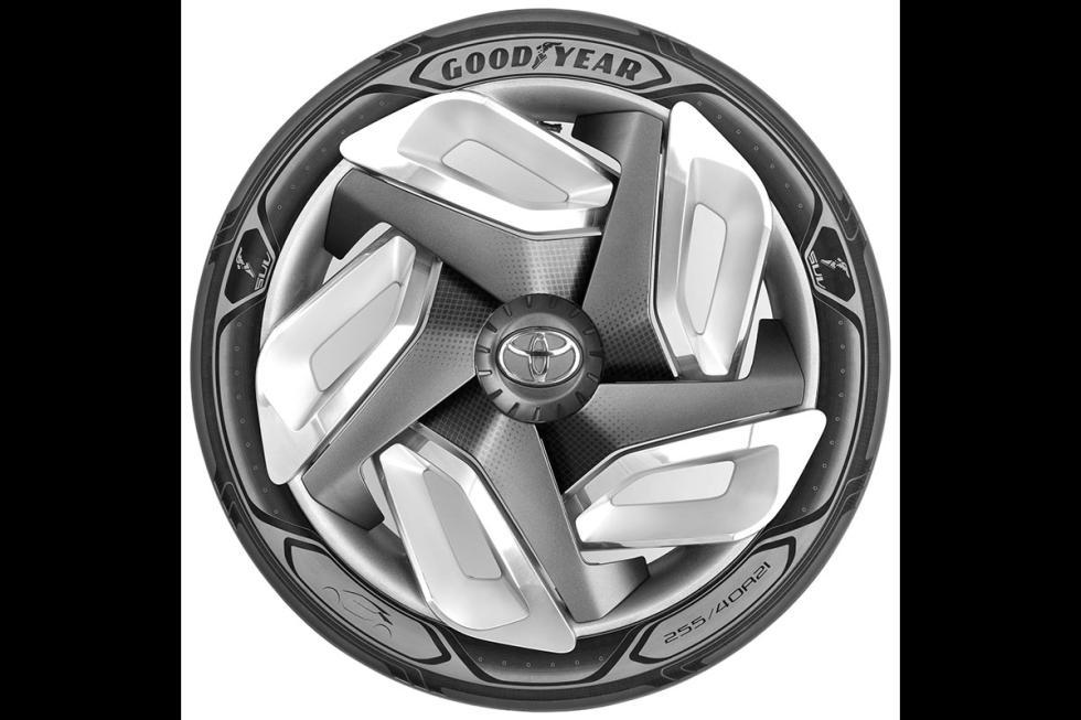 prototipo neumáticos futuristas Goodyear 2
