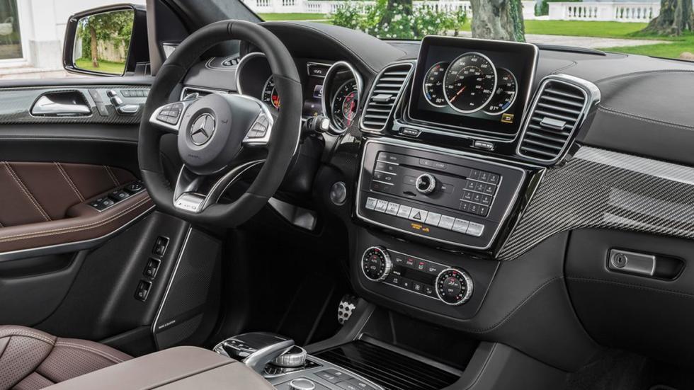 Mercedes GLS 2016 salpicadero