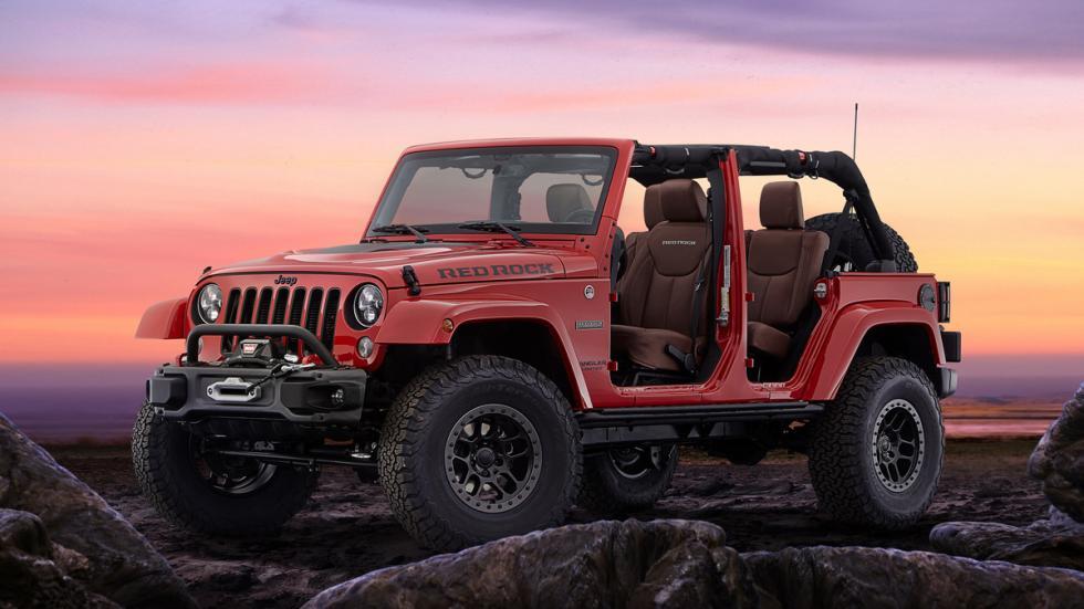 Jeep Wrangler Red Rock Concept delantera