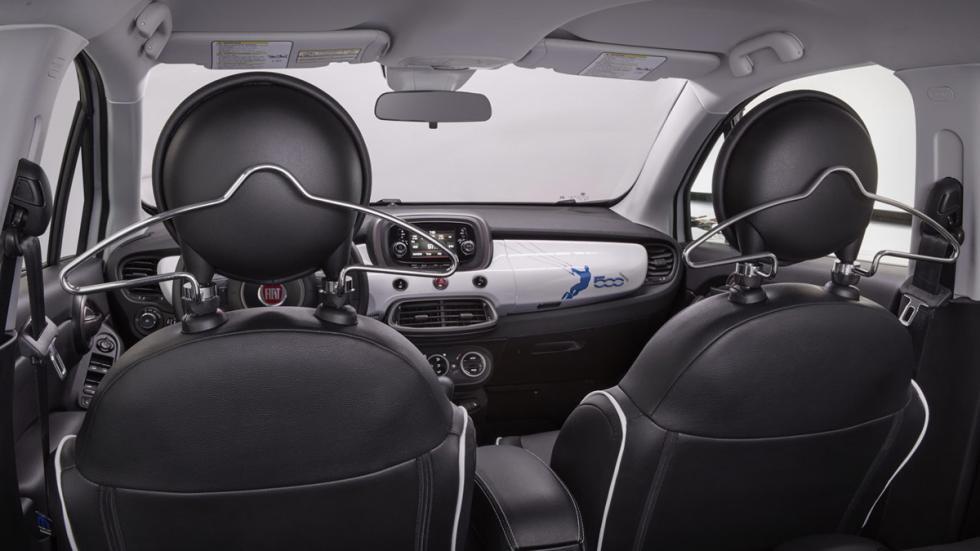 Fiat 500X Mobe plazas traseras