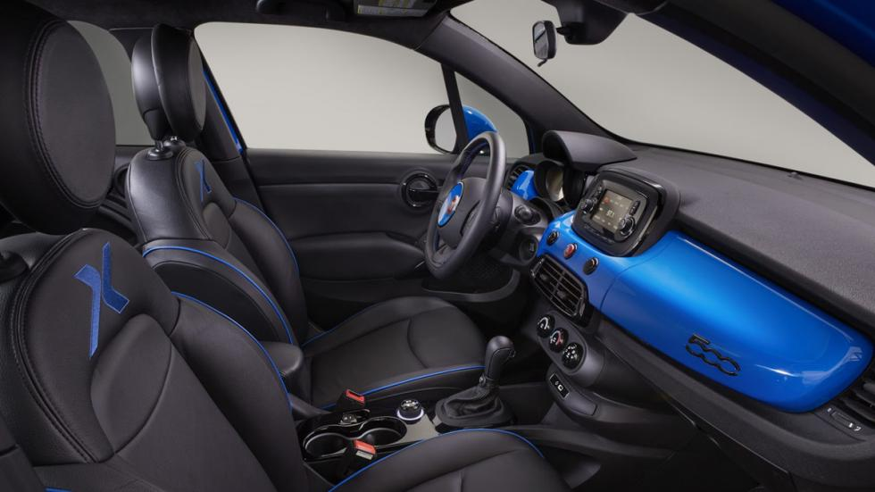 Fiat 500X Chicane interior