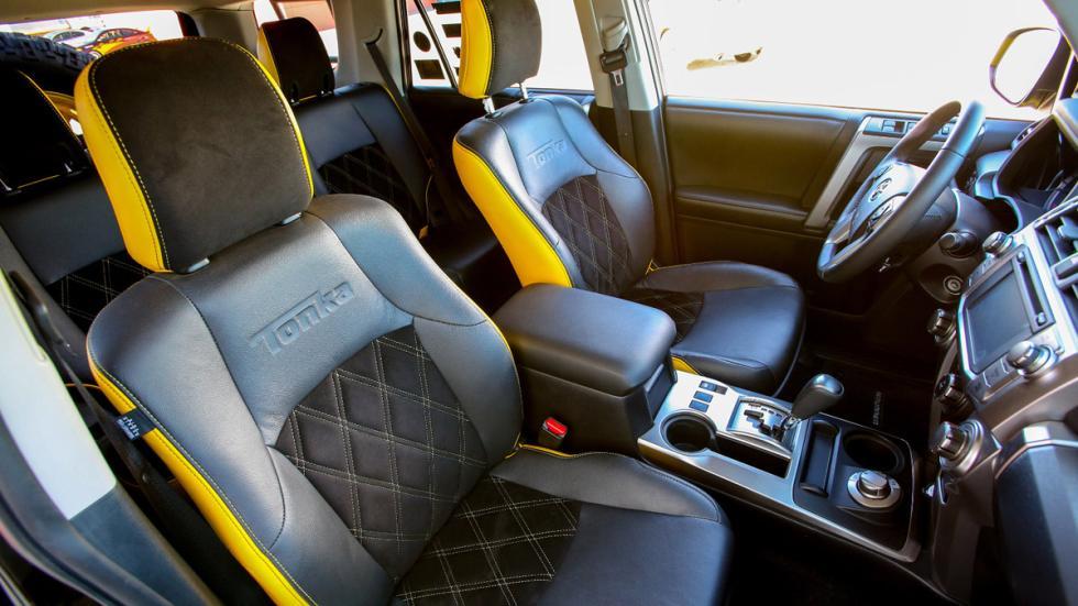 Toyota Tonka 4Runner interior