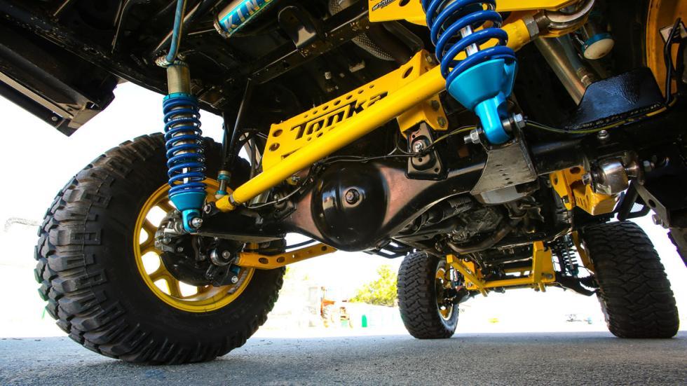 Toyota Tonka 4Runner suspensiones